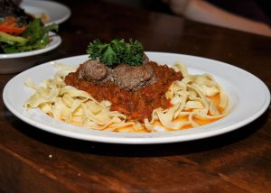 Image of KPP pasta and meatballs