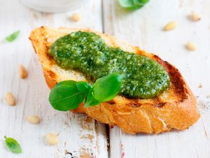 Pesto Bruschetta image